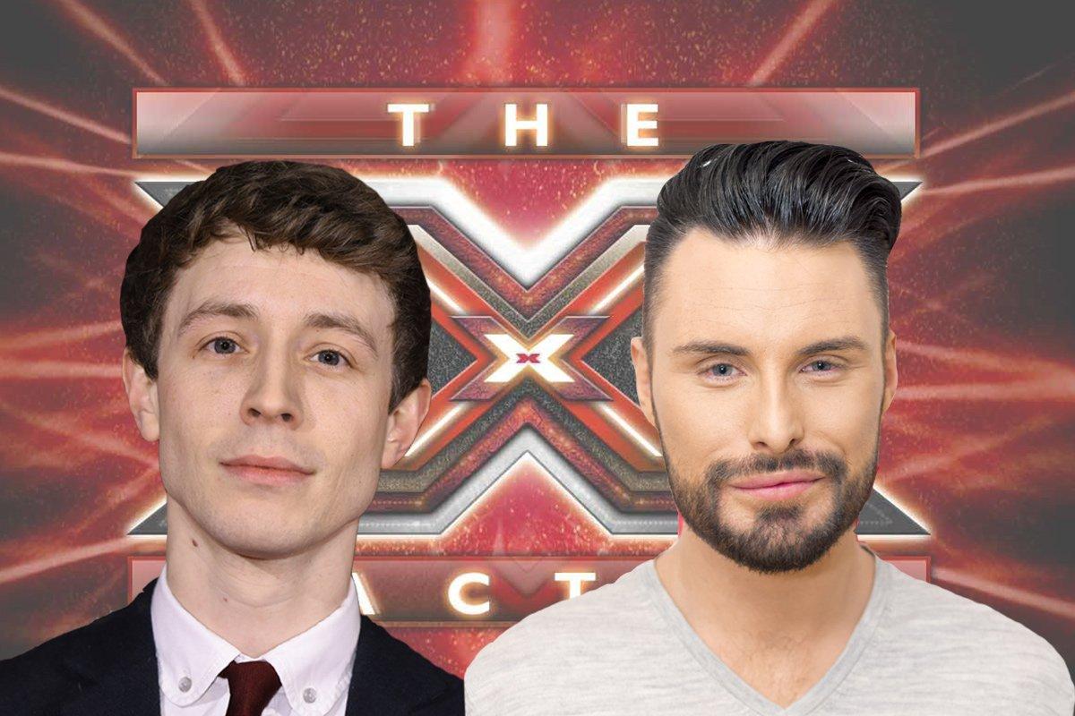 Rylan Clarke and Matt Edmondson are hosting The Xtra Factor