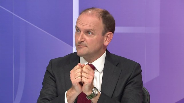 Douglas Carswell, UKIP MP, on BBC political debate show 'Question Time' from Preston. Broadcast on BBC1 HD. Featuring: Douglas Carswell Where: United Kingdom When: 30 Jun 2016 Credit: Supplied by WENN **WENN does not claim any ownership including but not limited to Copyright, License in attached material. Fees charged by WENN are for WENN's services only, do not, nor are they intended to, convey to the user any ownership of Copyright, License in material. By publishing this material you expressly agree to indemnify, to hold WENN, its directors, shareholders, employees harmless from any loss, claims, damages, demands, expenses (including legal fees), any causes of action, allegation against WENN arising out of, connected in any way with publication of the material.**
