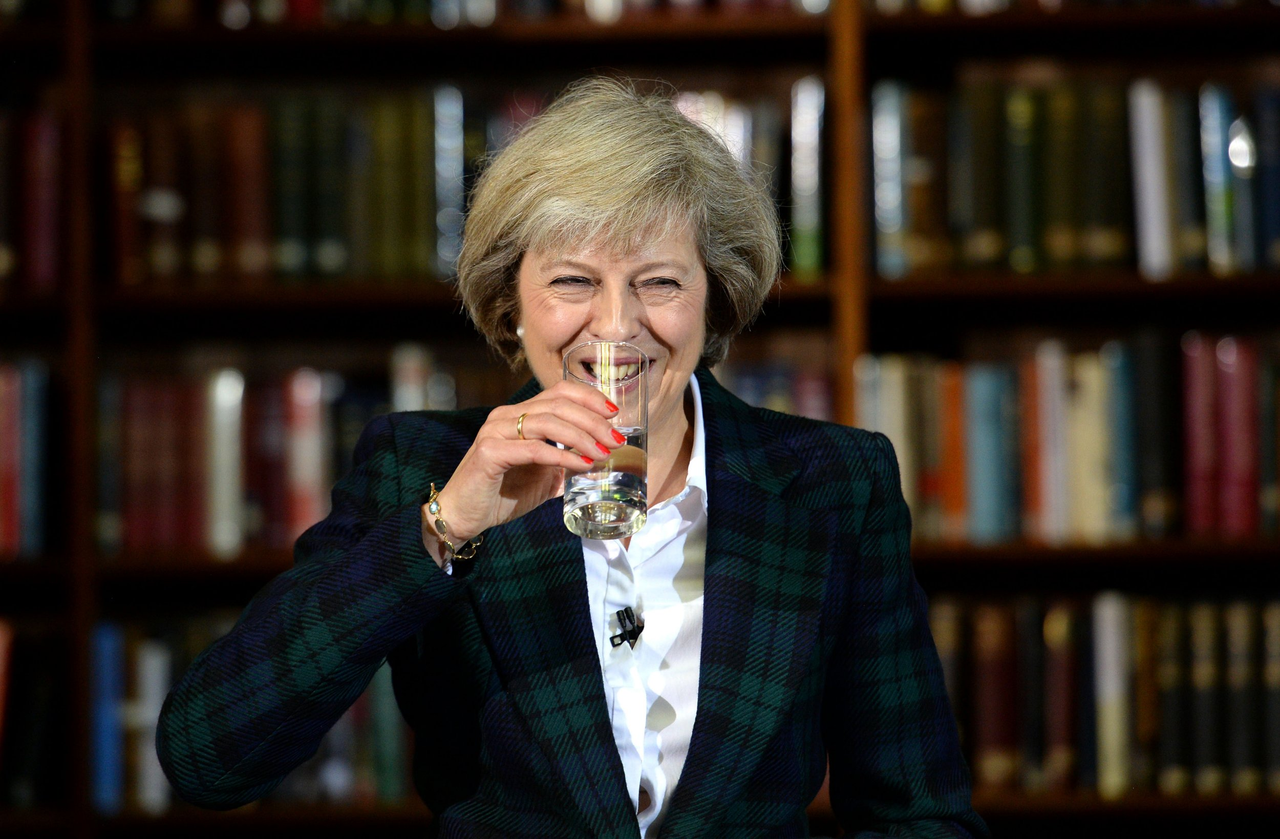 File photo dated 30/06/16 of Theresa May who is racing towards victory with six in 10 Conservatives backing her to replace David Cameron, polling has revealed. PRESS ASSOCIATION Photo. Issue date: Sunday July 3, 2016. See PA story POLITICS Conservatives. Photo credit should read: Stefan Rousseau/PA Wire