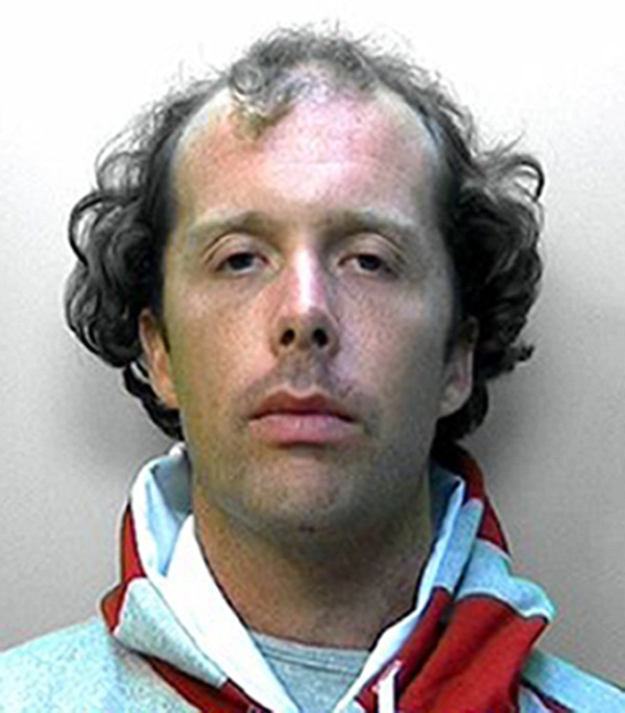 """Custody image of Matthew Daley  - A man who stabbed a retired solicitor 39 times after a crash between their cars has been cleared of murder but convicted of his manslaughter. has been given life. Matthew Daley, 35, killed Donald Lock, on the A24 in Findon, near Worthing, last July after the 79-year-old ran into the back of his vehicle. Daley had admitted stabbing Mr Lock to death, claiming diminished responsibility. Lewes Crown Court heard Daley suffered from chronic mental health problems. The judge, Mr Justice Singh adjourned the case for sentencing on 8 July. During the trial, jurors were told Daley's mother pleaded with mental health experts to have her son sectioned. She told the court the day she heard Mr Lock was killed was """"the day that all your nightmares came true"""". The great-grandfather, who had recently been given the all-clear from prostate cancer, was returning from a cycle meeting when his car crashed into the back of Daley's Ford Fusion. Picture: Universal News And Sport (Europe) 08/07/2016."""