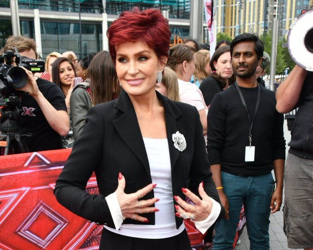 Mandatory Credit: Photo by Nils Jorgensen/REX/Shutterstock (5754051cx) Sharon Osbourne The X Factor photocall, London, UK - 09 Jul 2016 Host and judges take part in photocall ahead of six chair challenge, which sees all four judges pick six contestants to go through to judges' houses, at SSE Arena Wembley, London.