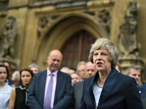 'Honoured and humbled': Theresa May is now Tory leader