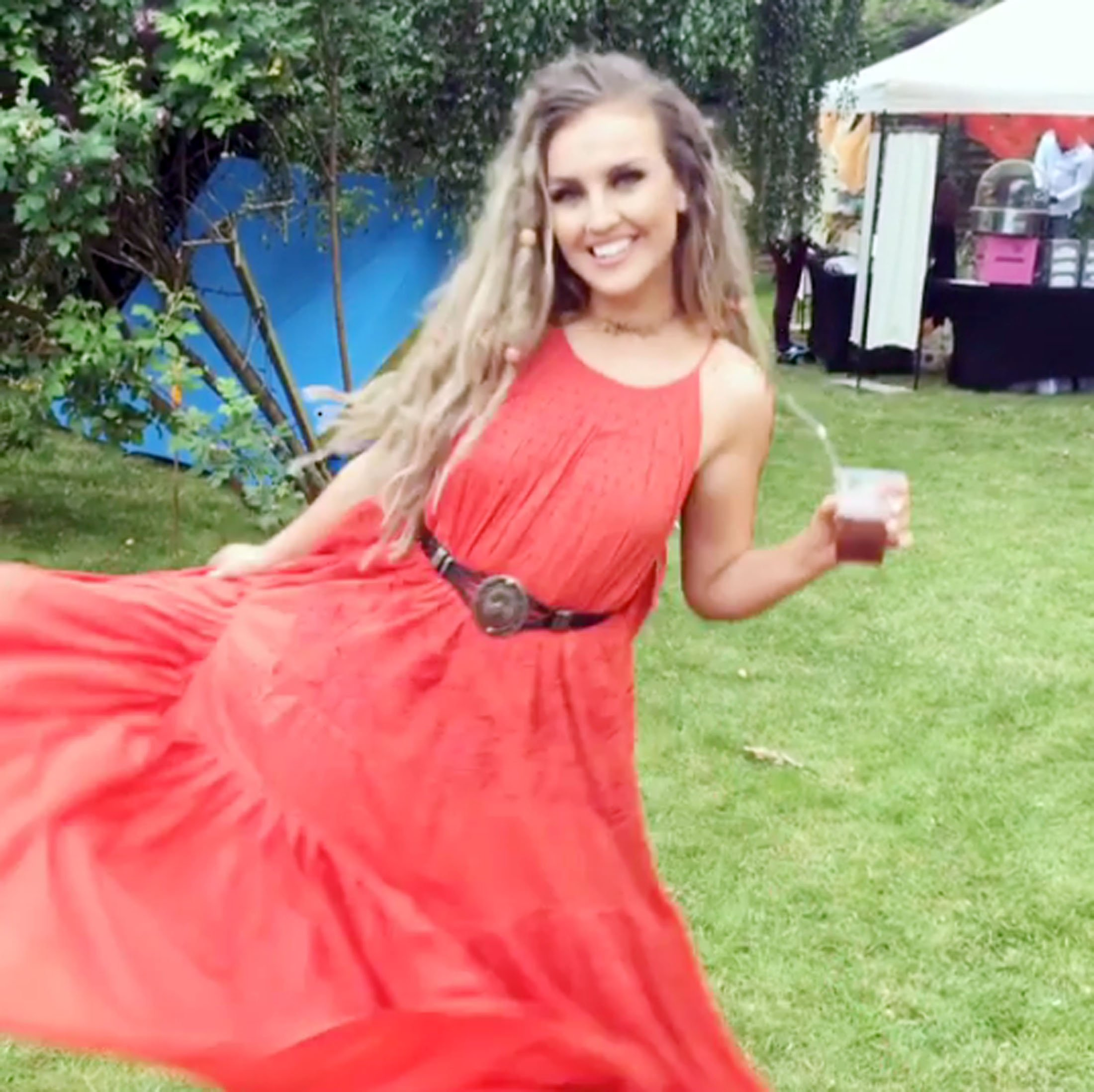 11 JULY 2016 PERRIE EDWARDS IN THIS PICTURE POSTED ON THE TWITTER SOCIAL NETWORK SITE. BYLINE MUST READ: SUPPLIED BY XPOSUREPHOTOS.COM *Xposure Photos does not claim any Copyright or License in the attached material. Any downloading fees charged by Xposure are for Xposure's services only, and do not, nor are they intended to, convey to the user any Copyright or License in the material. By publishing this material , the user expressly agrees to indemnify and to hold Xposure harmless from any claims, demands, or causes of action arising out of or connected in any way with user's publication of the material* **UK CLIENTS MUST CALL PRIOR TO TV OR ONLINE USAGE PLEASE TELEPHONE +44 208 344 2007**