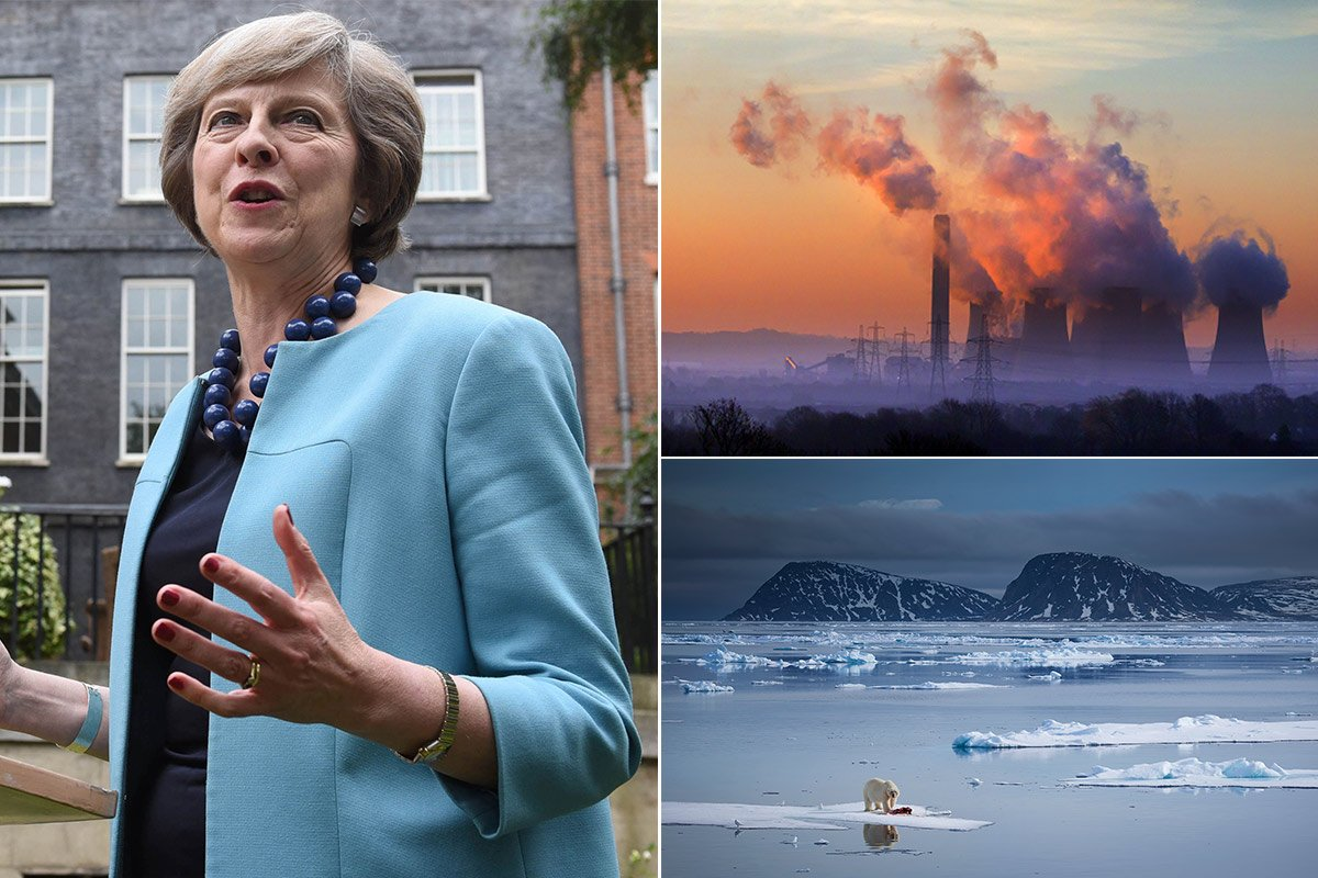 Theresa May scrapping of climate change department 'just plain stupid'
