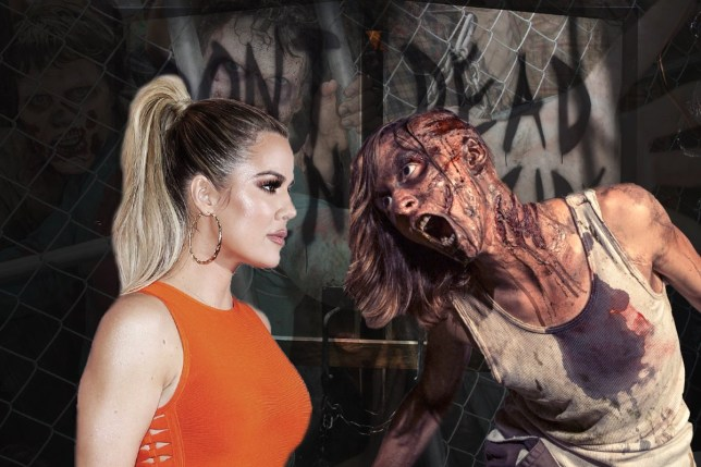 Khloe Kardashian keeps zombie apocalypse survival kit in her car khloe-zombies-getty-rex-metro.jpg