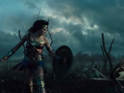 The first trailer for Wonder Woman has arrived – with Gal Gadot in fighting form