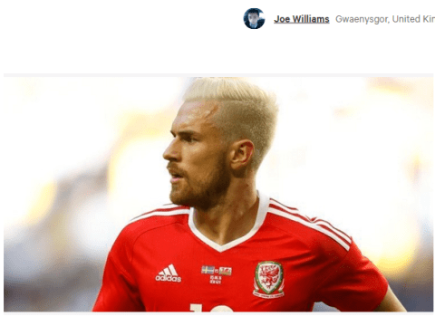 Petition launched for Uefa to overturn Aaron Ramsey suspension for Wales v Portugal