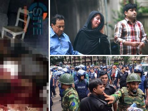 Bangladesh restaurant hostages 'tortured and killed if they couldn't recite Koran'