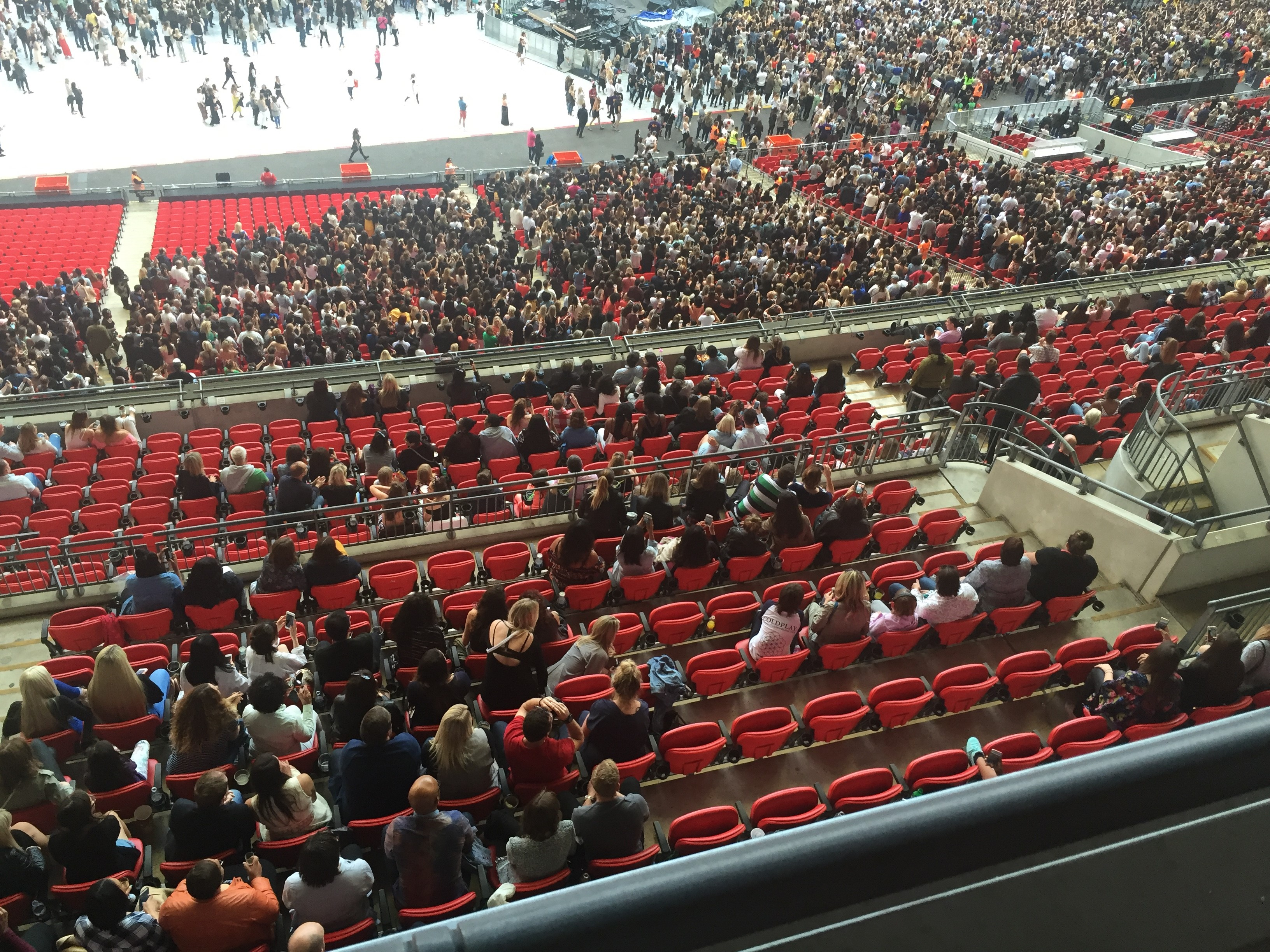 Beyonce's Wembley Stadium shows were sold out  – so why were there so many empty seats?