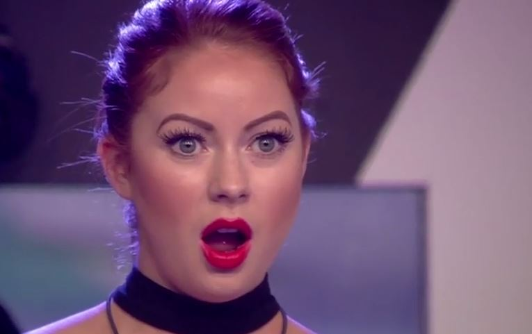 Laura's in shock (Picture: Channel 5)