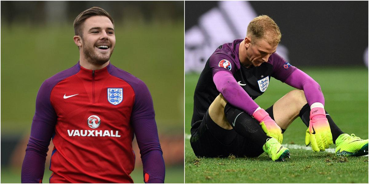 Jack Butland gunning for Joe Hart's England place after Euro 2016 nightmare