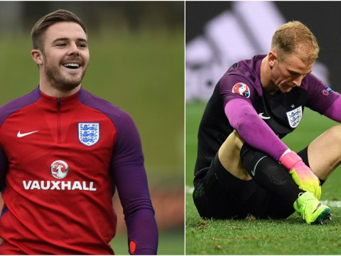 Jack Butland gunning for Joe Hart's England place after Euro 2016 nightmare