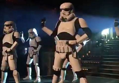 WATCH: Britain's Got Talent's Dancing Stormtroopers killing it at the Star Wars: Episode 8 wrap party