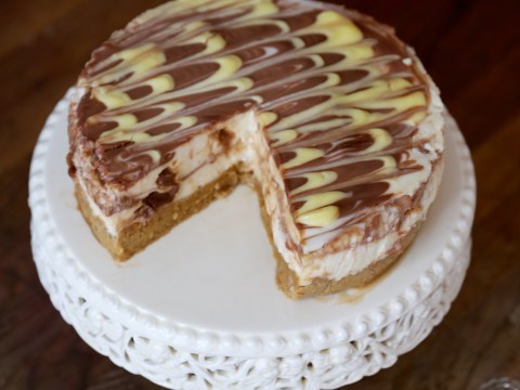 National Cheesecake Day: An easy recipe for a delicious Mars bar cheesecake