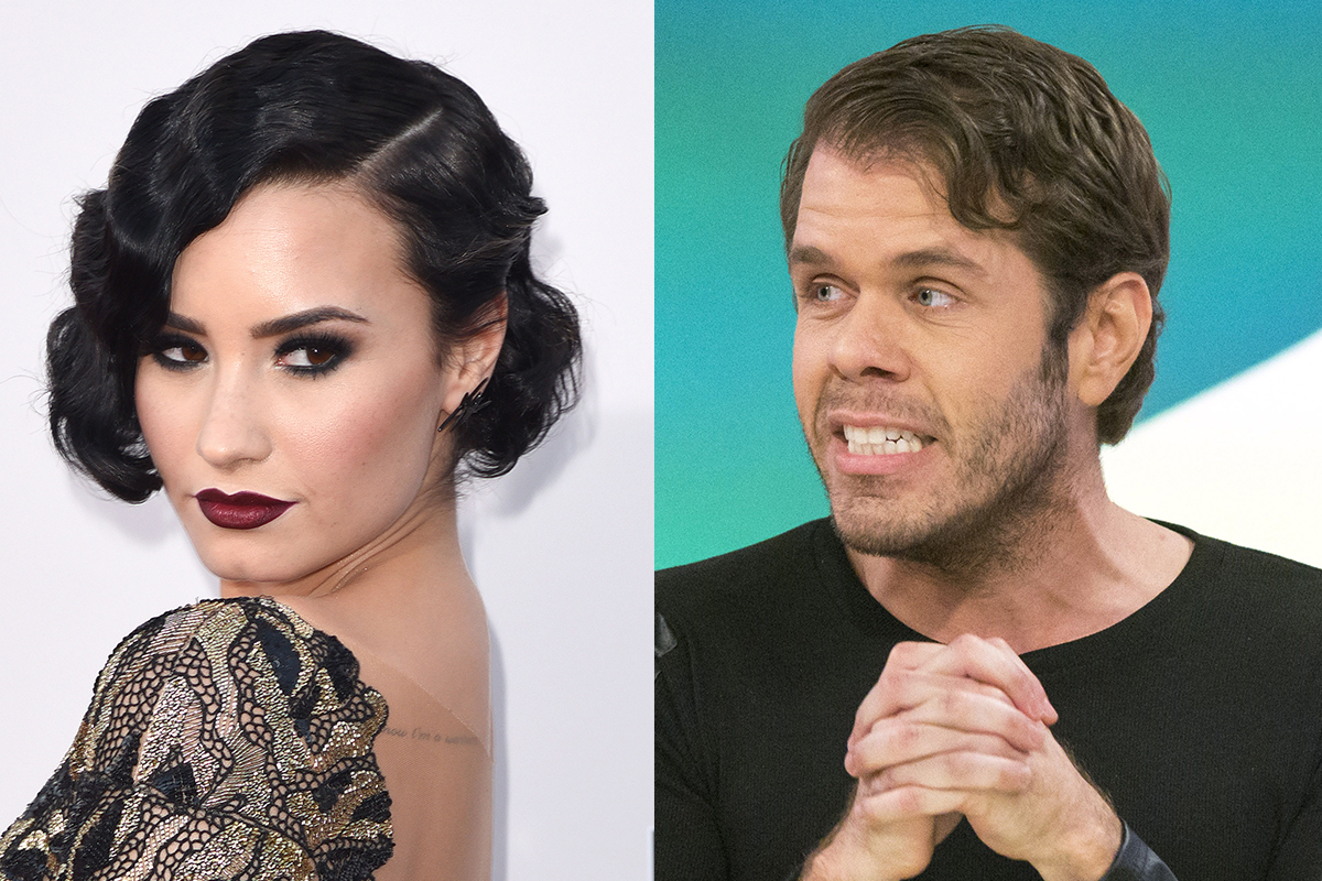 Demi Lovato and Perez Hilton are having some serious Twitter beef
