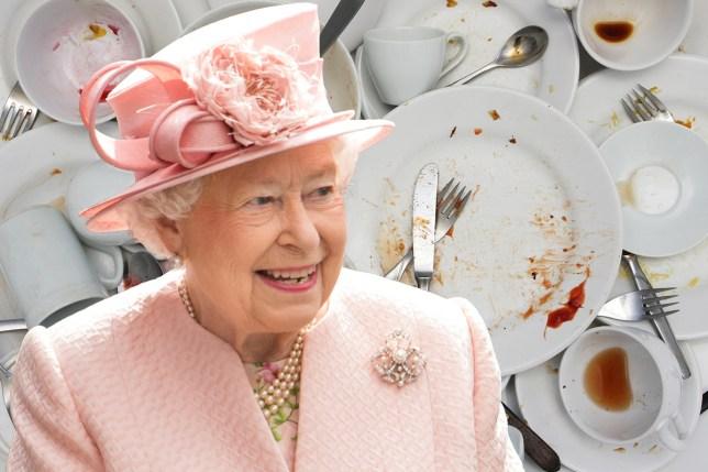 Dream job hunt over - the Queen needs a pot washer