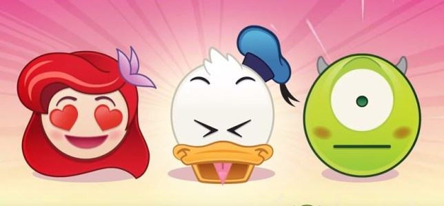 Little Mermoji, Donald Duckoji and Mikoji? (Picture: Disney)