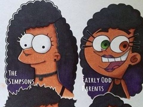 Instagram trend sees black and Asian artists redefine how we see popular cartoon characters