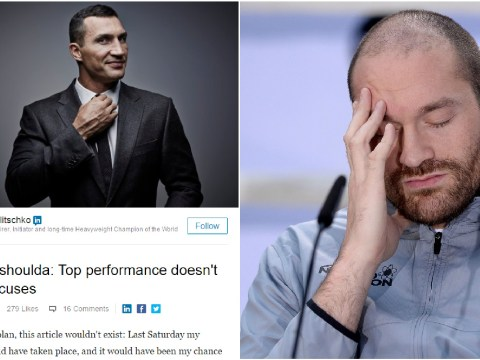 Wladimir Klitschko reveals no date set for Tyson Fury rematch and much more in odd post