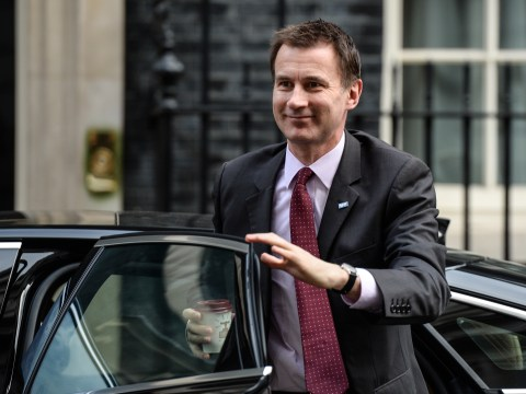 Hunt's response to those celebrating him being 'sacked' is actually quite funny