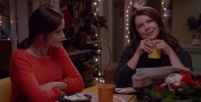 Gilmore Girls reunites Lauren Graham and Alexis Bledel as mum and daughter (Picture: Netflix)