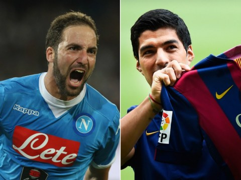 Higuain for £75m? Liverpool fans suddenly realise they were 'robbed' by Barcelona for Luis Suarez