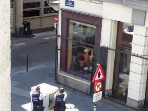 Man in winter coat sparks terror alert in Brussels