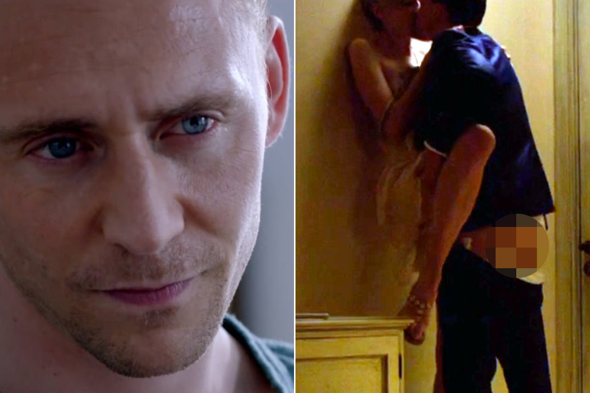 Tom Hiddleston has been crowned Rear of the Year 2016