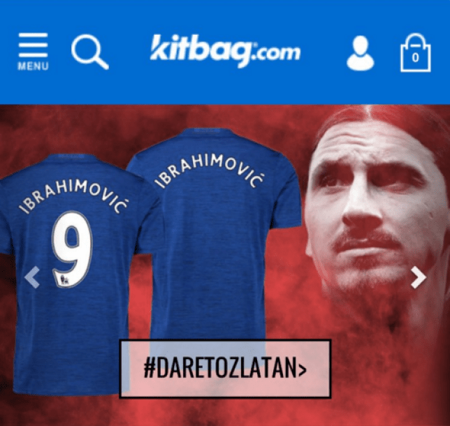 meet 4c5f9 754b5 Manchester United news: Zlatan Ibrahimovic's shirt number ...