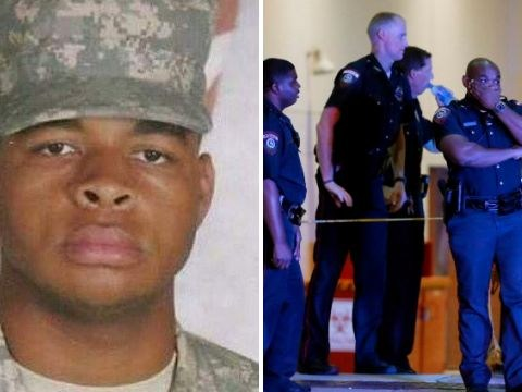 Dallas gunman smeared cryptic messages on wall in his own blood