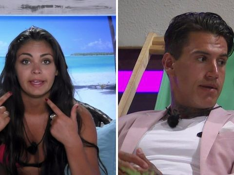 Emma, Terry, Adam and Lauren leave Love Island as the final looms