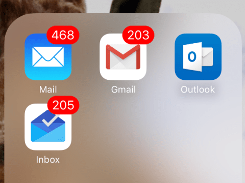 I have 29,453 unread emails and 12 email addresses, am I the weird one?