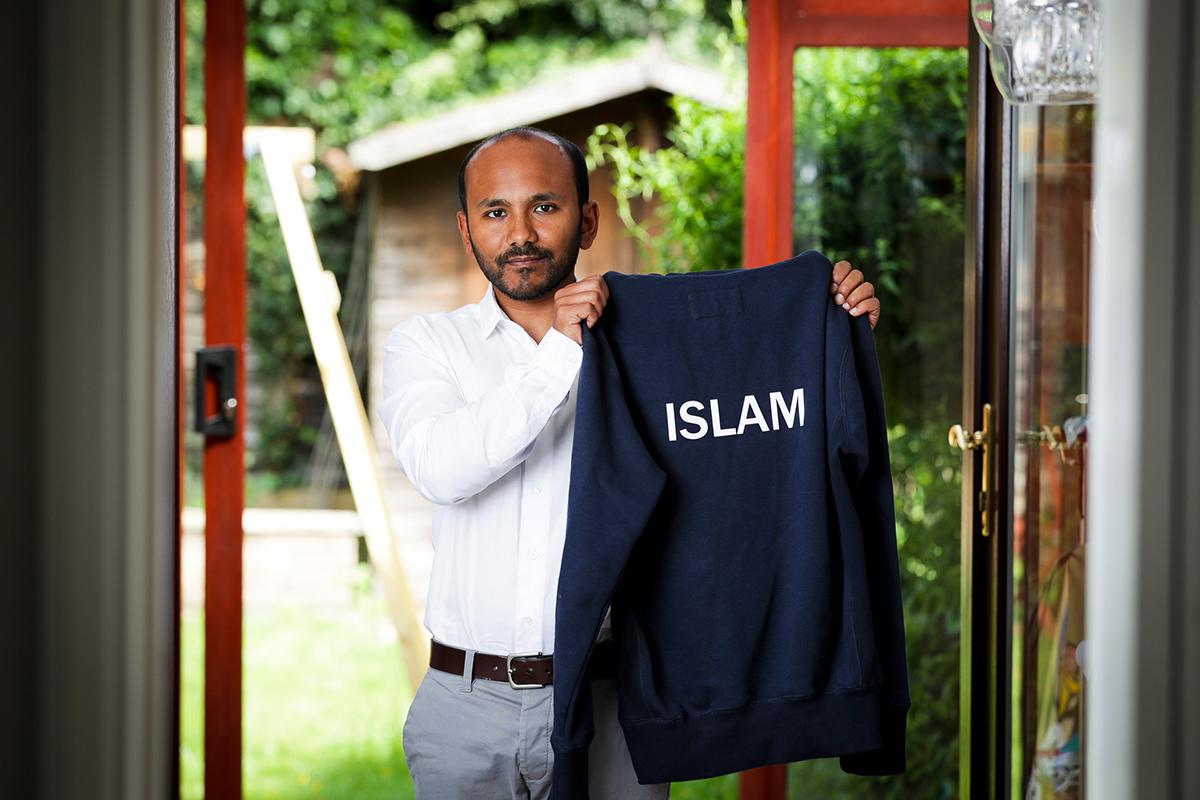 Teacher told to remove 'Islam' school surname hoodie in pub