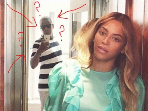 Jay Z took a photo of Beyonce and people can't handle it