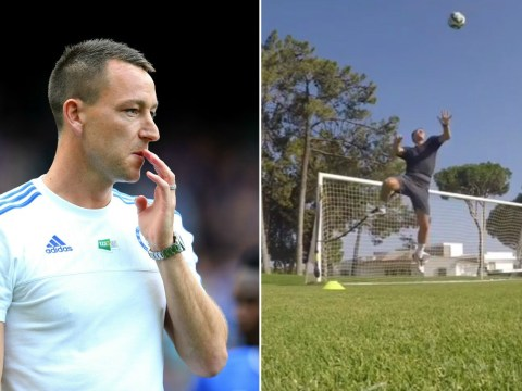 Who needs Bonucci? John Terry tries to impress new Chelsea boss Antonio Conte with insane summer workout
