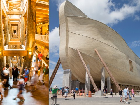 Someone built Noah's ark to prove the Bible was right