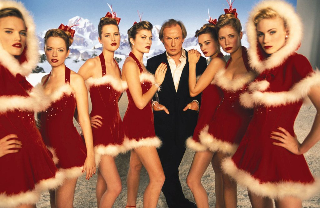 ITV showed Love Actually in July but there was a sort of logic behind it