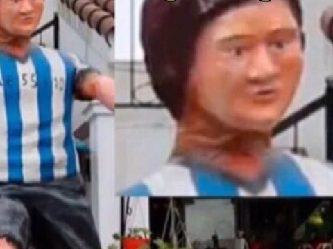 The worst EVER statue of Lionel Messi has been found and it is fantastic