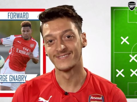 Arsenal star Mesut Ozil leaves Alexis Sanchez out of ultimate XI for Serge Gnabry