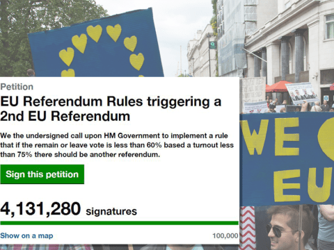 MPs WILL debate petition calling for second referendum