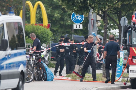 Munich gunman 'lured victims with Facebook post about free McDonalds'
