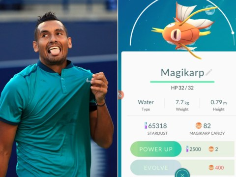 Nick Kyrgios loses at tennis but wins at Pokemon Go