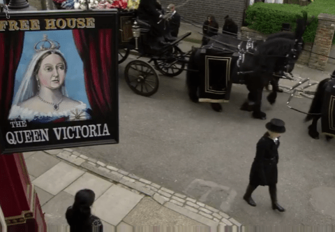 Eastenders: The emotional trailer for Peggy Mitchell's funeral is here