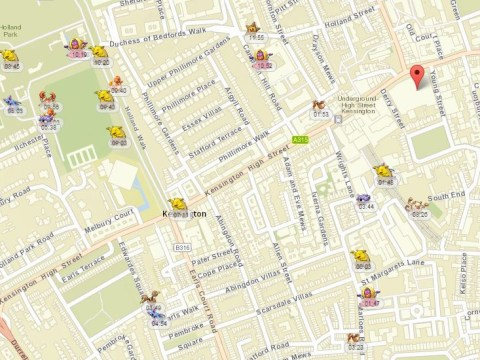 Map showing nearby Pokemon no longer works – and people aren't happy