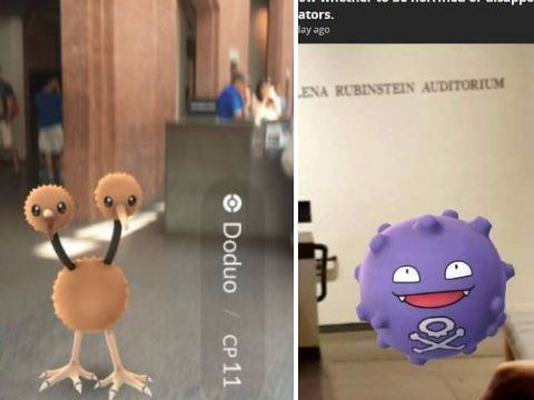 Koffing the poison gas Pokemon 'found at Holocaust Museum'