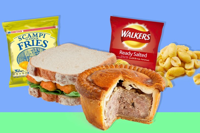 XX British pub snacks ranked from worst to best