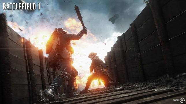 Battlefield 1 - not slow and boring