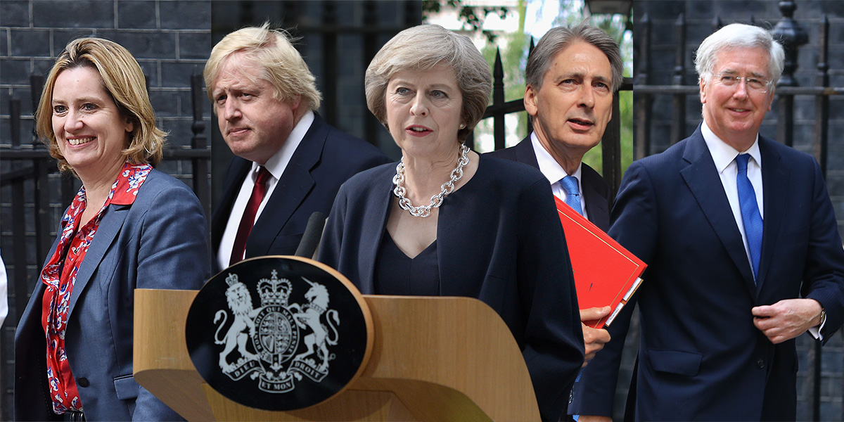Theresa May's Cabinet: Who's in and who's out?