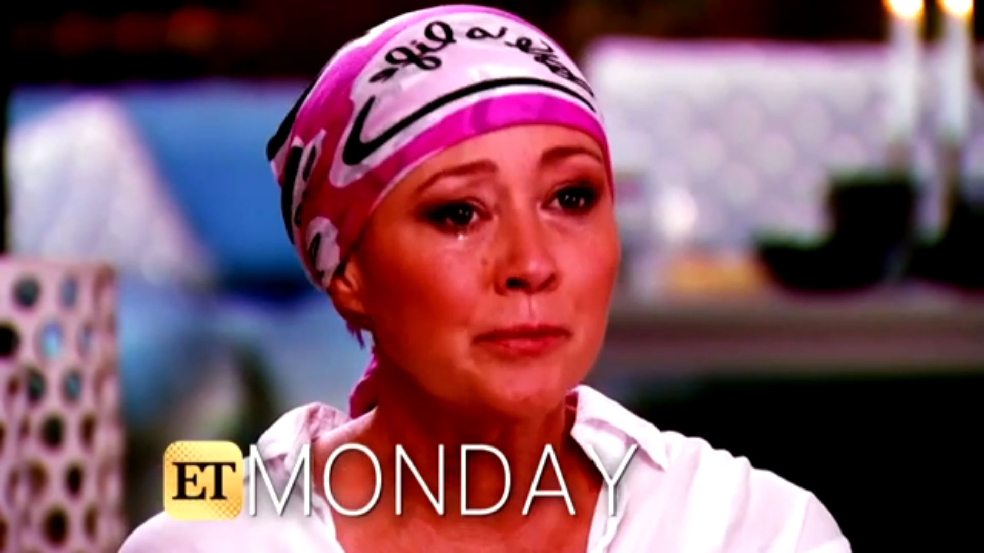 Shannon Doherty breaks down as she opens up on cancer battle