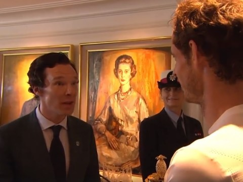 Sherlock fan Andy Murray quizzes Benedict Cumberbatch on series four